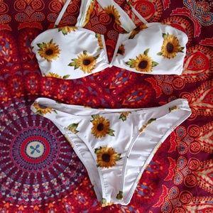 Boho Sunflower Bikini